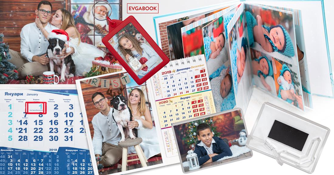 Коледна фотосесия - календари и магнити